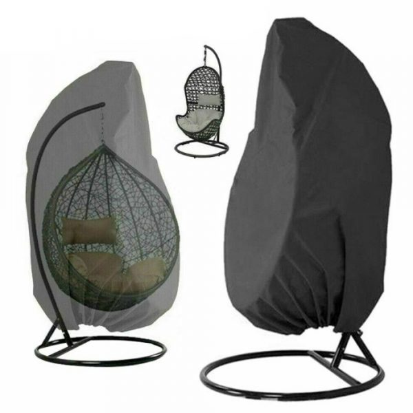 Polyester Fabric Hanging Rattan Egg Chair Protection Cover_9