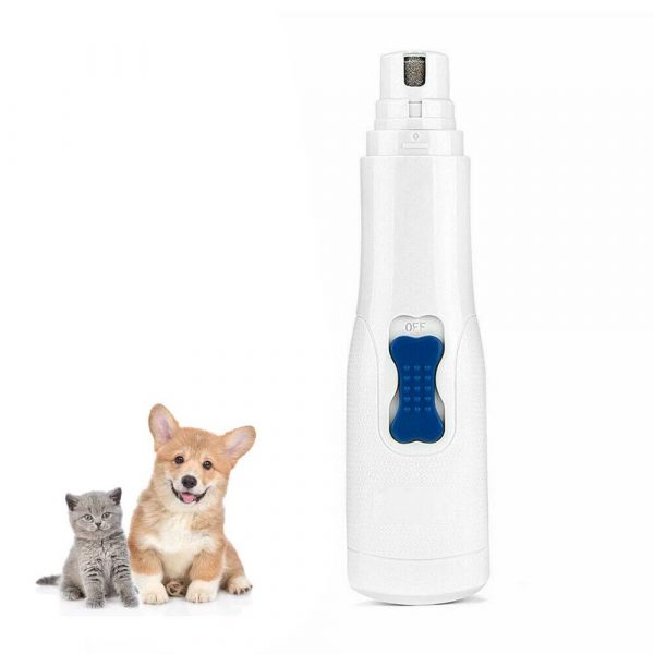 Battery-Operated Pet Nail Grinder and Claw Trimmer_0