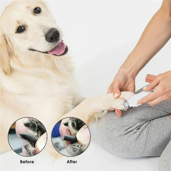Battery-Operated Pet Nail Grinder and Claw Trimmer_10