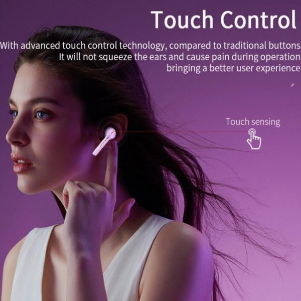 Bluetooth 5.0 Touch Control True Stereo Wireless Earphones_14