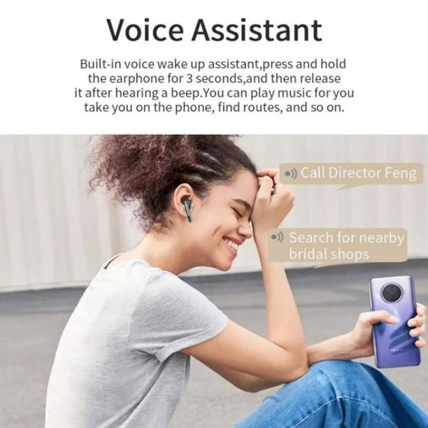Bluetooth 5.0 Touch Control True Stereo Wireless Earphones_8