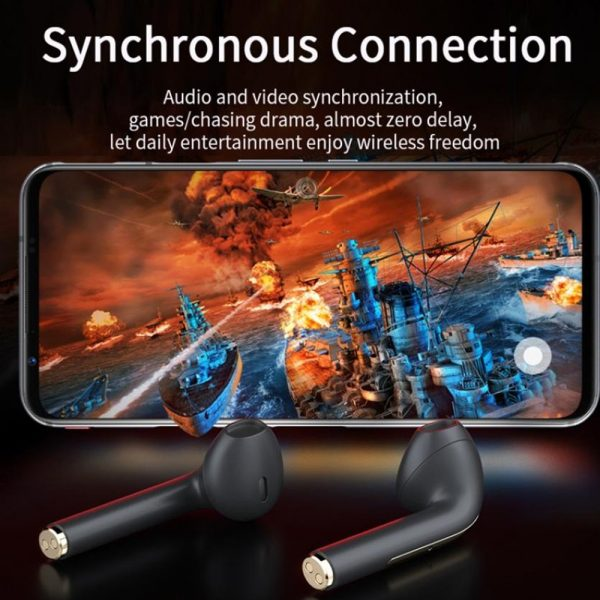 Bluetooth 5.0 Touch Control True Stereo Wireless Earphones_9