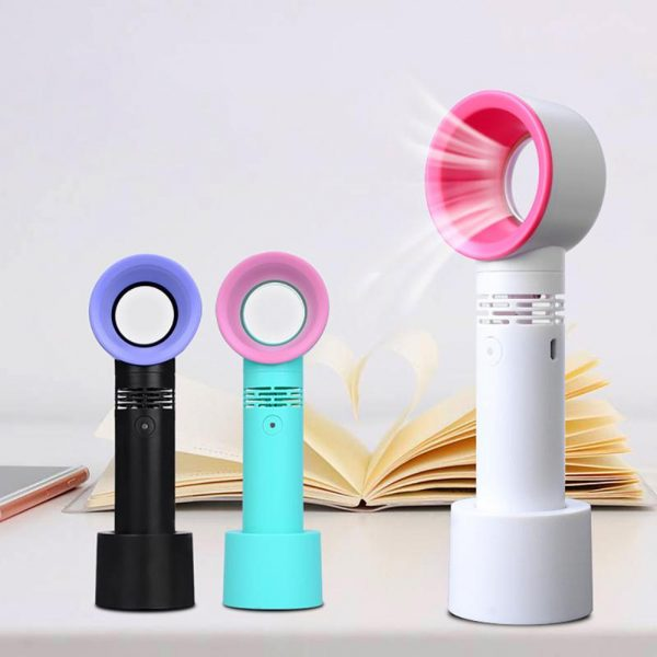 3 Speed Portable Bladeless Handheld Rechargeable Fan_15