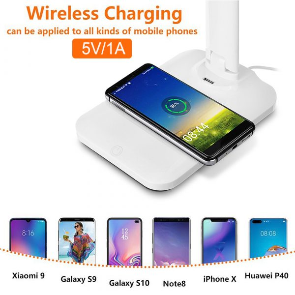 Multifunctional LED Desk Lamp with 5W Wireless Charging Function_13