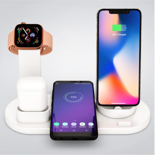 3-in-1 Wireless Charging Dock for QI Devices Phone Watch Earphones_1