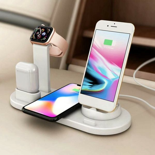 3-in-1 Wireless Charging Dock for QI Devices Phone Watch Earphones_2
