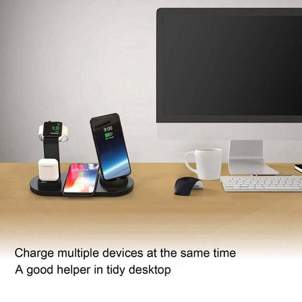 3-in-1 Wireless Charging Dock for QI Devices Phone Watch Earphones_13