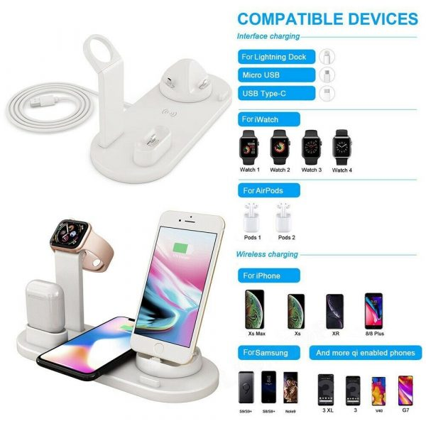 3-in-1 Wireless Charging Dock for QI Devices Phone Watch Earphones_4