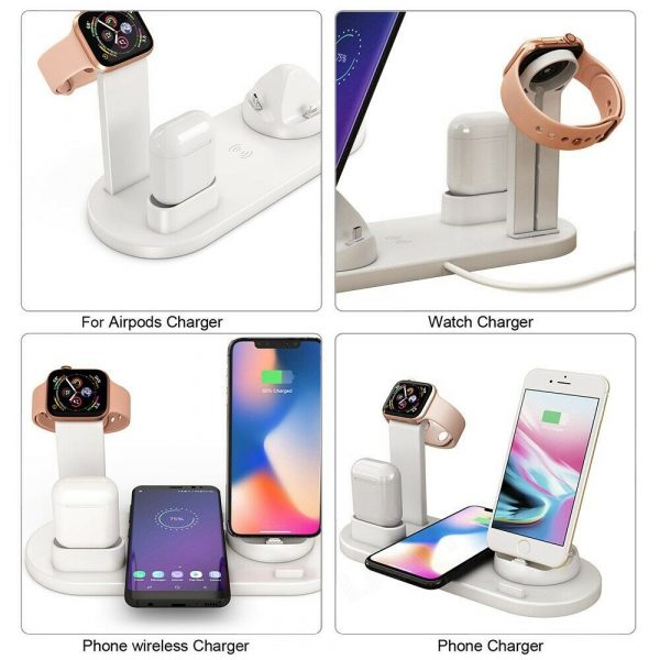 3-in-1 Wireless Charging Dock for QI Devices Phone Watch Earphones_6