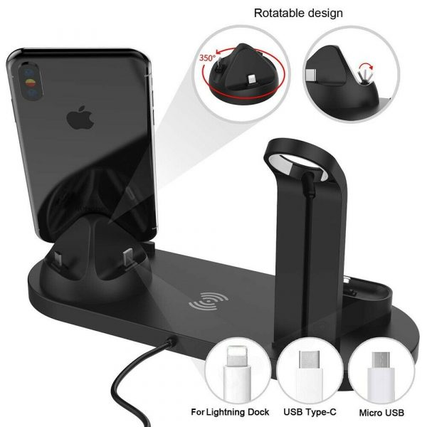 3-in-1 Wireless Charging Dock for QI Devices Phone Watch Earphones_10