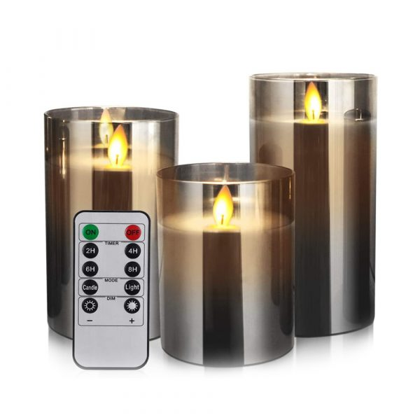 Flameless Flickering Rechargeable LED Wickless Candle_1