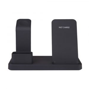 3-in-1 Fast Charging Wireless Mobile Phone Charging Station