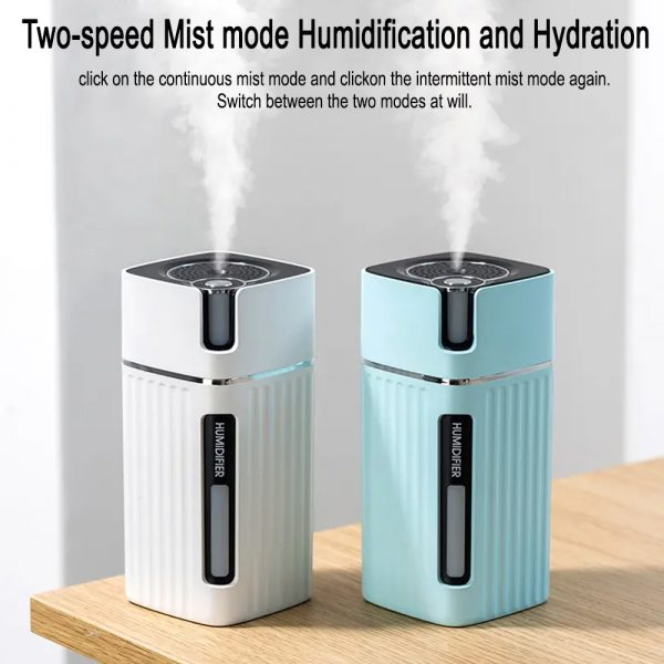 300ml Ultrasonic Electric Humidifier Cool Mist Aroma Diffuser_4