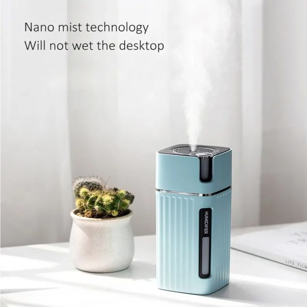 300ml Ultrasonic Electric Humidifier Cool Mist Aroma Diffuser_10