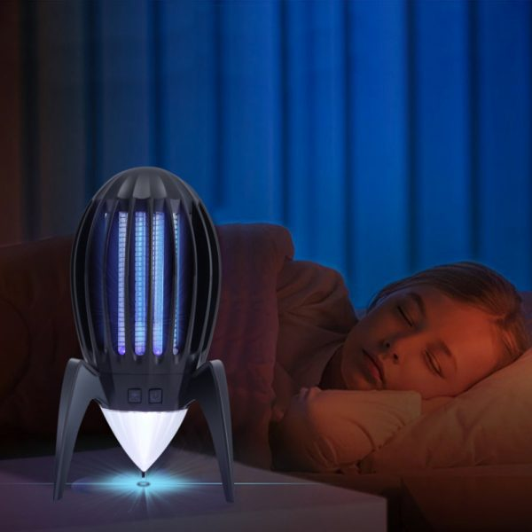 Electronic Mosquito Killer RGB Light Combined with UV Light_2