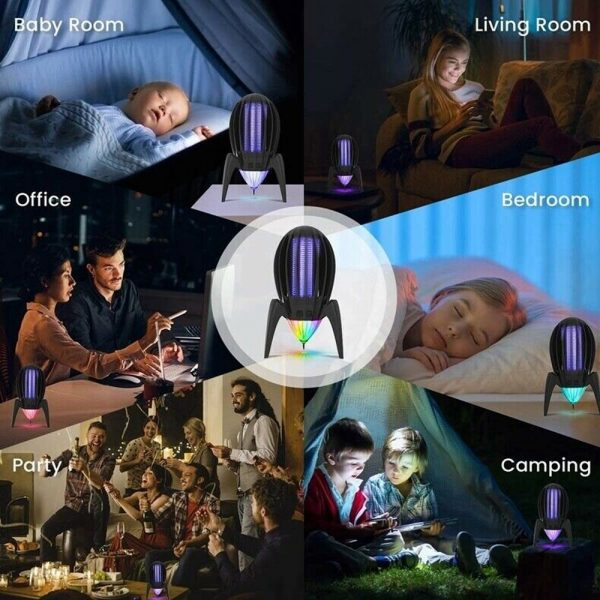 Electronic Mosquito Killer RGB Light Combined with UV Light_11