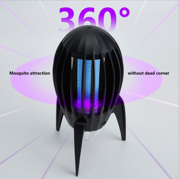 Electronic Mosquito Killer RGB Light Combined with UV Light_3