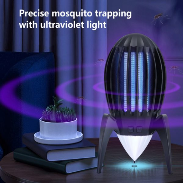 Electronic Mosquito Killer RGB Light Combined with UV Light_4