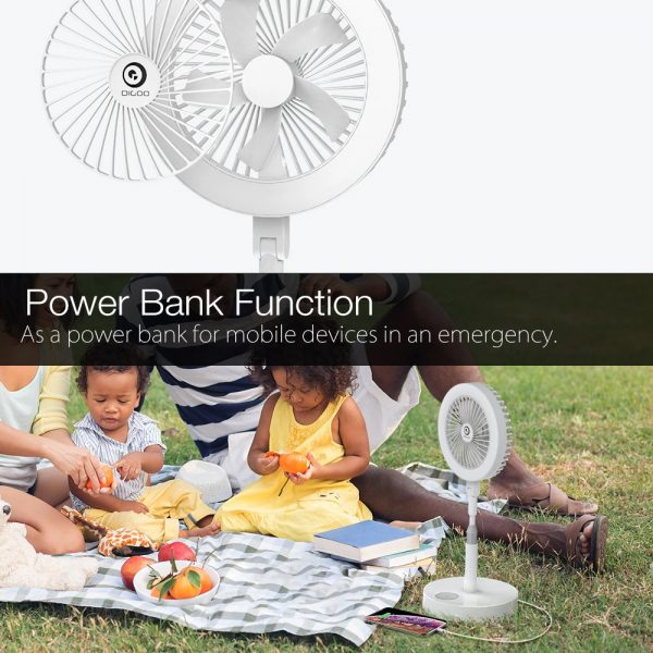 Retractable USB Charging Fan with Ring Light and Touch Panel_8