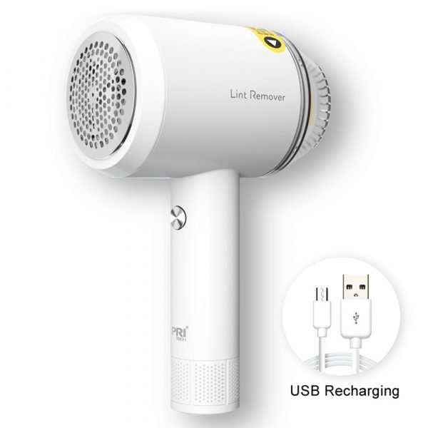 Rechargeable Lint Hair Remover Device Handheld Fabric Defuzzer_8