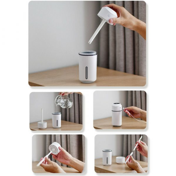 320ml Ultrasonic Car Air Humidifier Scent Diffuser and Hydrator_16