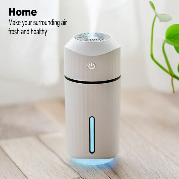 320ml Ultrasonic Car Air Humidifier Scent Diffuser and Hydrator_8