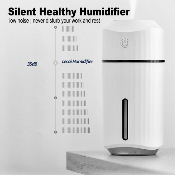 320ml Ultrasonic Car Air Humidifier Scent Diffuser and Hydrator_11