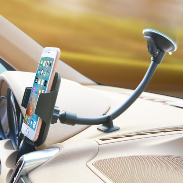 Car Windshield Suction Type Mobile Phone Holder Support Bracket_3