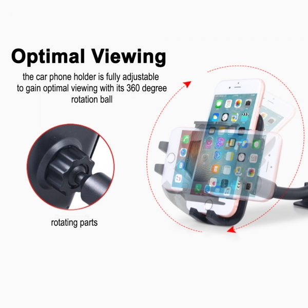 Car Windshield Suction Type Mobile Phone Holder Support Bracket_6