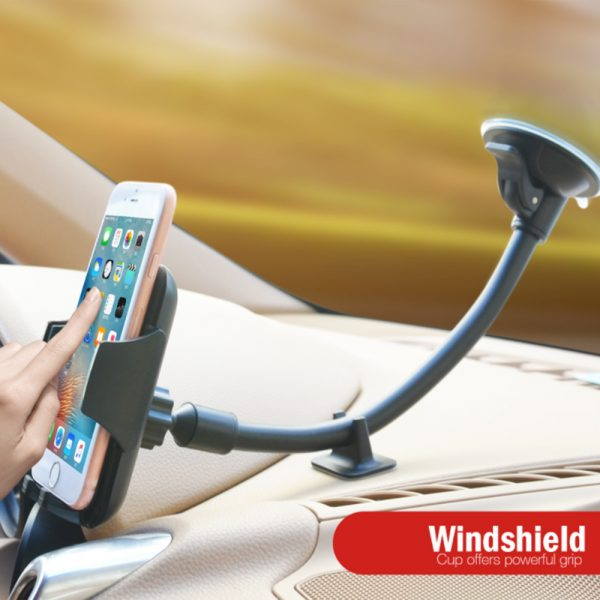 Car Windshield Suction Type Mobile Phone Holder Support Bracket_12