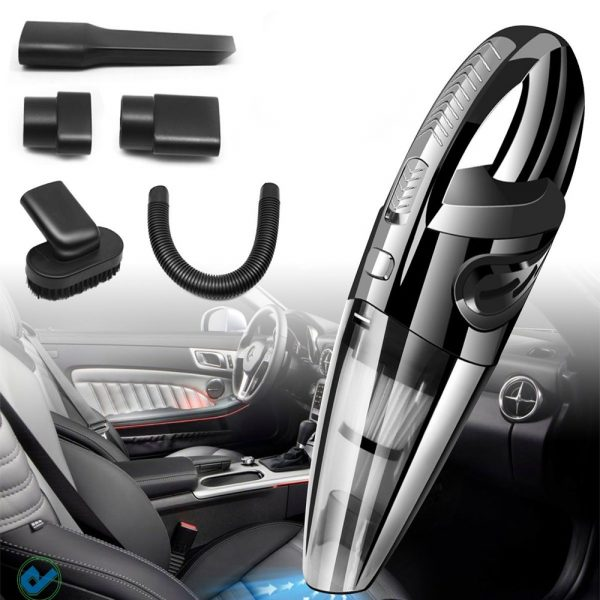 USB Rechargeable Cordless Car Wet and Dry Vacuum Cleaner_1