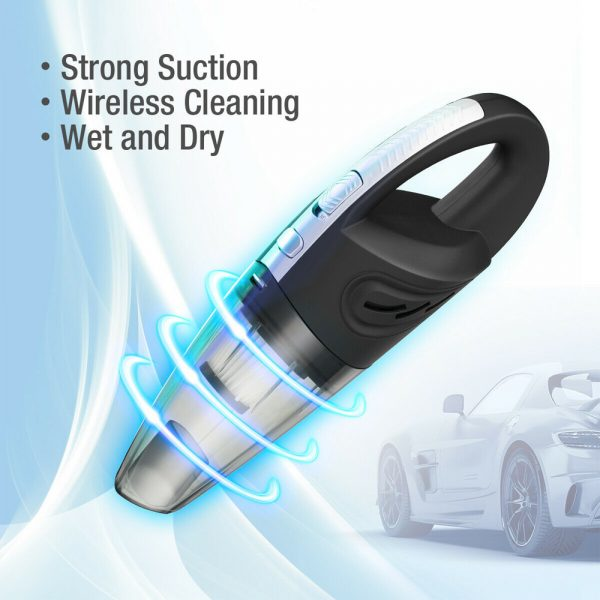 USB Rechargeable Cordless Car Wet and Dry Vacuum Cleaner_2