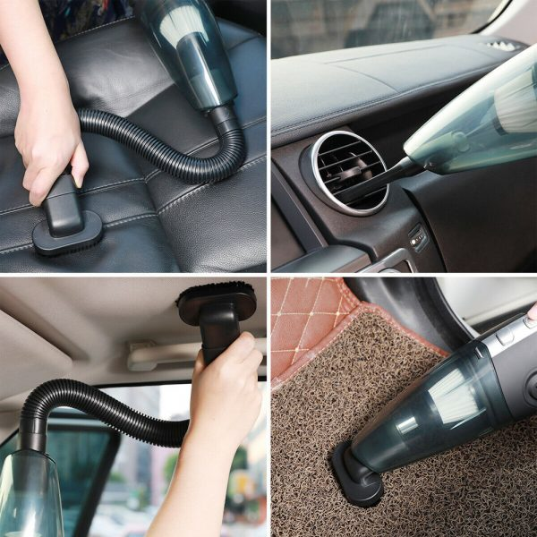 USB Rechargeable Cordless Car Wet and Dry Vacuum Cleaner_11