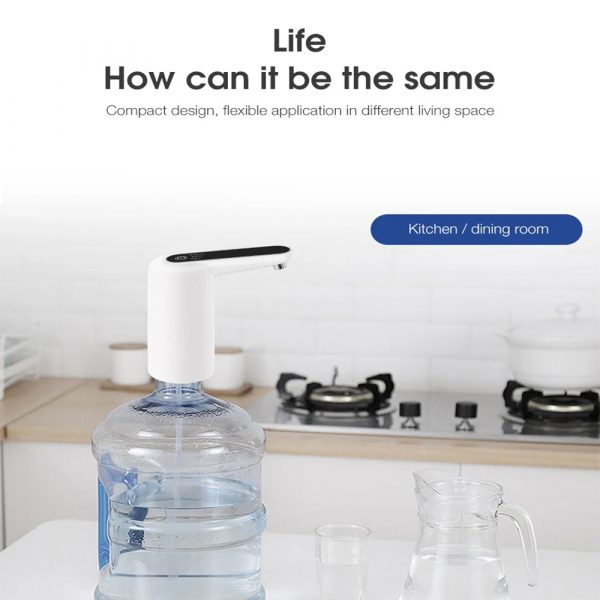 Rechargeable Electric Water Press with Quality Detection Function_8