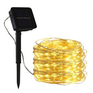 200LED Solar Powered String Fairy Light for Outdoor Decoration