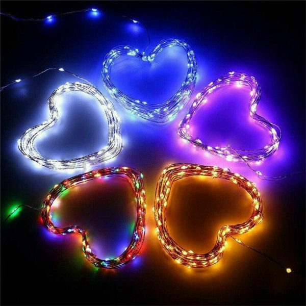 200LED Solar Powered String Fairy Light for Outdoor Decoration_7