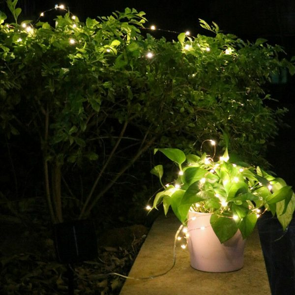 200LED Solar Powered String Fairy Light for Outdoor Decoration_8