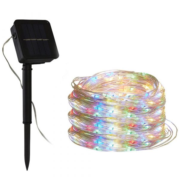 200LED Solar Powered String Fairy Light for Outdoor Decoration_3