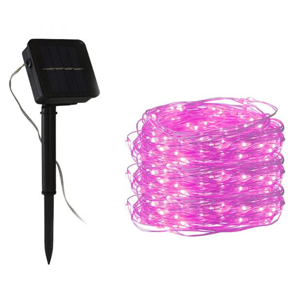 200LED Solar Powered String Fairy Light for Outdoor Decoration_4
