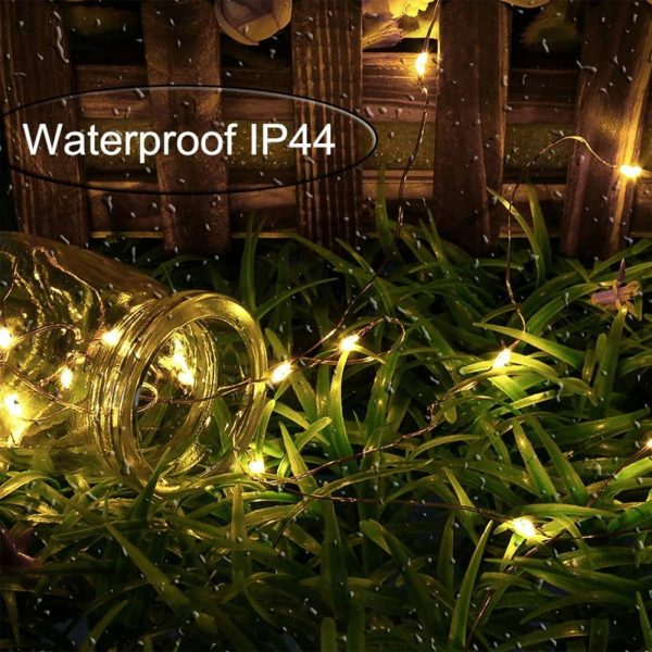 200LED Solar Powered String Fairy Light for Outdoor Decoration_11