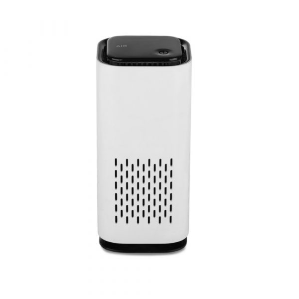 Mini Car Home Air Purifier and Night Light with Real HEPA Filter_2