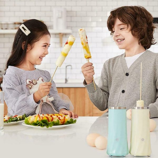 Electric Egg Roll Machine Egg Rolled Omelet Cooker Machine- US Plug_2