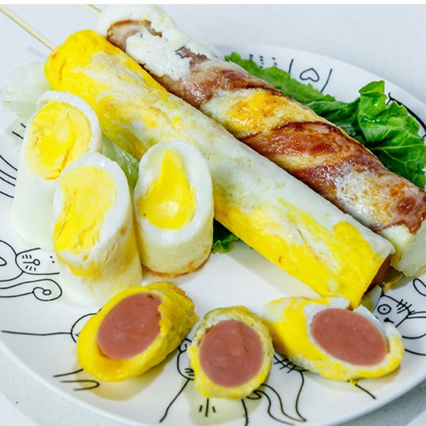 Electric Egg Roll Machine Egg Rolled Omelet Cooker Machine- US Plug_5