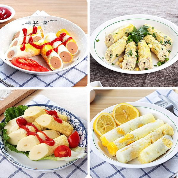 Electric Egg Roll Machine Egg Rolled Omelet Cooker Machine- US Plug_12
