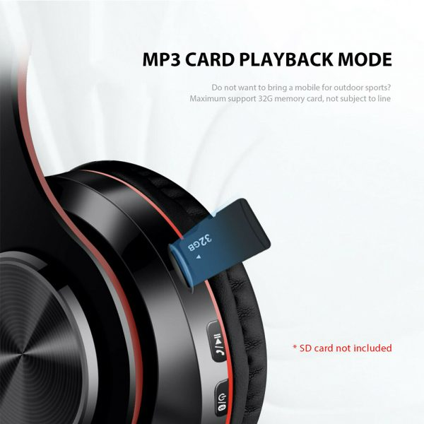 Wireless Bluetooth Rechargeable LED Sports and Gaming Headset_17