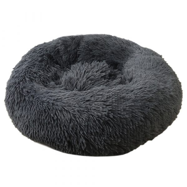 Machine Washable Calming Donut Cat and Dog Pet Bed_2