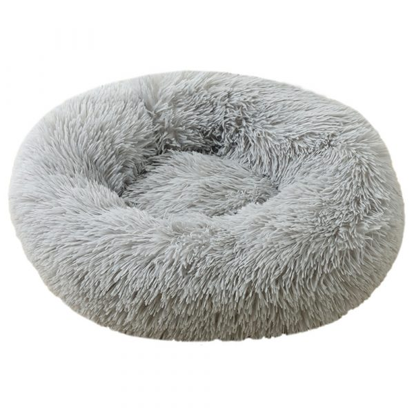 Machine Washable Calming Donut Cat and Dog Pet Bed_4