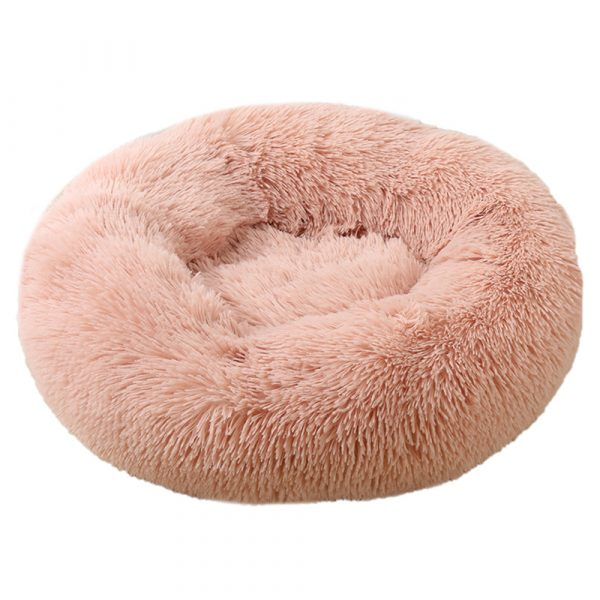 Machine Washable Calming Donut Cat and Dog Pet Bed_5