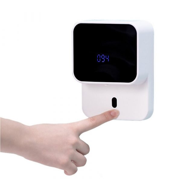 Wall Mounted Automatic Induction Hand Liquid Soap Dispenser_1
