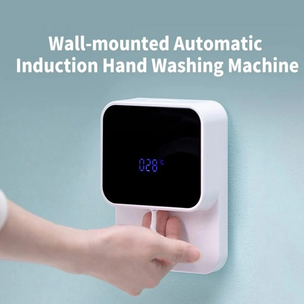 Wall Mounted Automatic Induction Hand Liquid Soap Dispenser_5